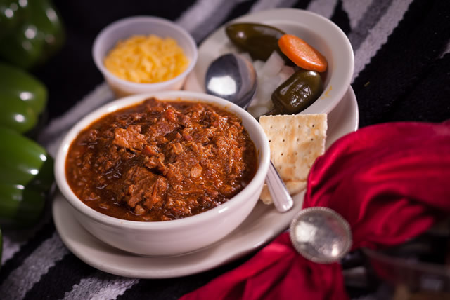 Authentic Texas Chili.  Not a bean in sight!