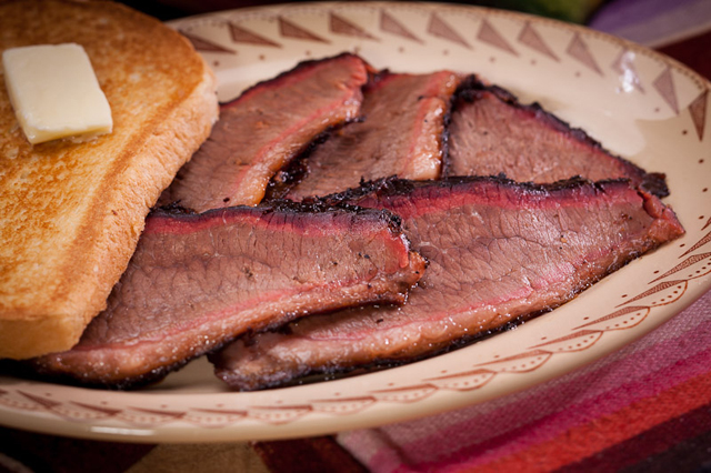 Brisket is the national food of the Republic of Texas.